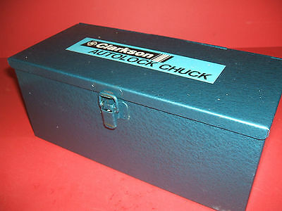 Clarkson Autolock Chuck, no. 3MT, Unused, Imperial Collets, Boxed with spanner.