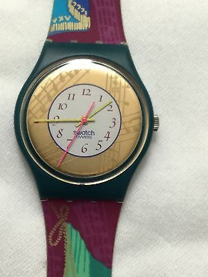 Swatch Watch Vintage 1992 Palco GG119 As New Unworn