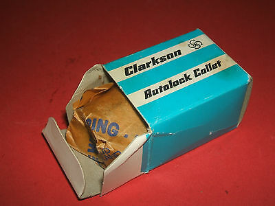 """An unused Clarkson """"S"""" type collet,   16mm. dia.  Original packing."""