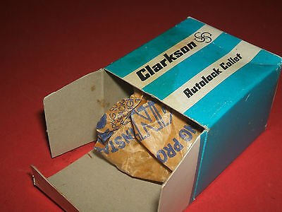 """An unused Clarkson """"S"""" type collet,   12mm. dia.  Original packing."""