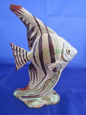 Beswick Rare ANGEL FISH issued 1946-67 Model 1047 (18.4 cm high) PERFECT