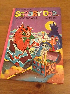 scooby doo... where are you? annual 1978