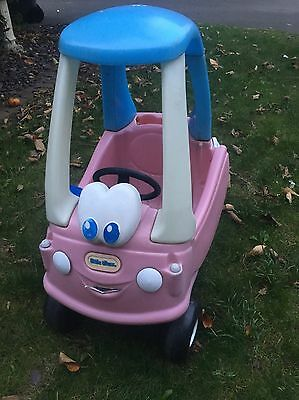 Little Tikes Pink Cosy Coupe Cozy Car Used Condition
