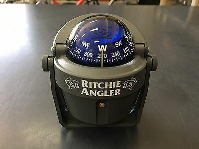 Ritchie Angler Compass With Bracket