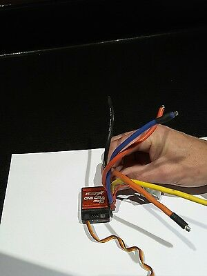 TrackStar GenII One Cell 120A 1/12th Scale Sensored Brushless ESC