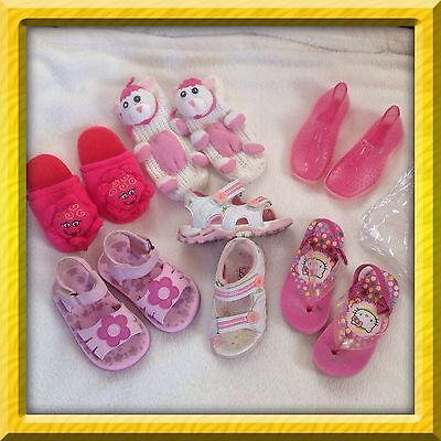 lot chaussures,chaussons,sandales,fille,pointure 24