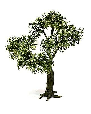 1/35 scale Model tree (plastic leaves). Realistic tree trunk. TMTP-002 24 cm.