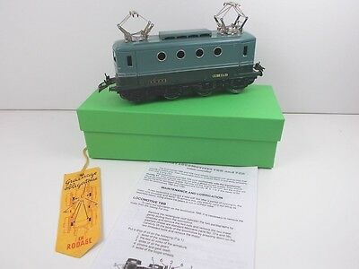French Hornby O Gauge Electric Loco TBB (Boxed)