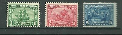 United States 1920 mint stamps CV £58+