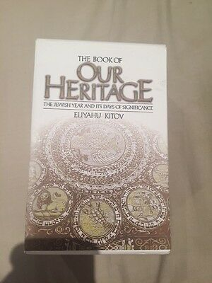 The Book Of Out Heritage - Eliyahu Kitov