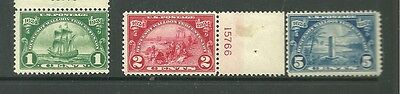 United States 1924 mint stamps CV £33+