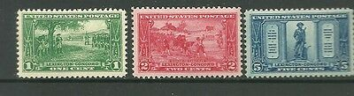 United States 1925 Mint Stamps CV £33