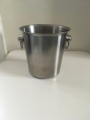Champagne Ice Bucket in Stainless Steel