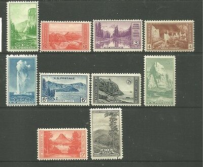 United States 1934 Mint Stamps