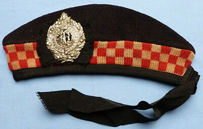 Original Ww2 Scottish Argyll & Sutherland Highlanders Forage Cap