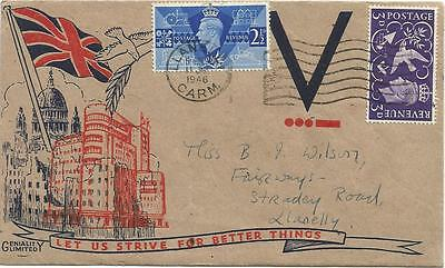 First Day Cover of the Victory set 1946