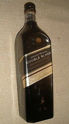 JOHNNIE WALKER Double Black 1L collectible limited edition empty bottle
