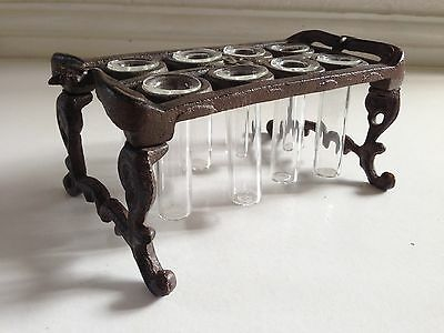 Antique French Purfumiers Cast Iron Stand