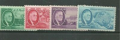 United States 1945 mint stamps