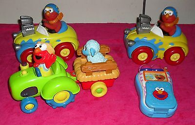 Sesame Street Elmo musical/singing & light up toys battery operated