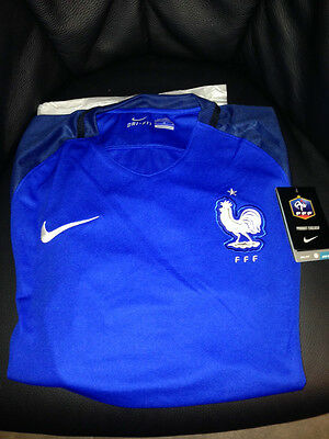 Maillot de football EQUIPE DE FRANCE FFF NIKE 2016 NEUF EMBALLE TAILLE M