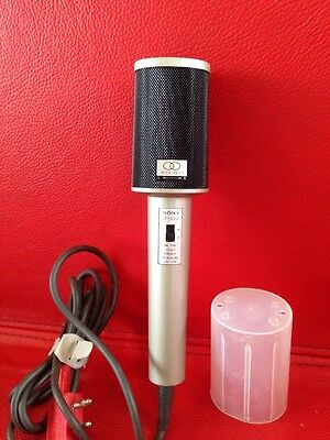 Vintage Sony F-99S One Point Stereo Dynamic Microphone