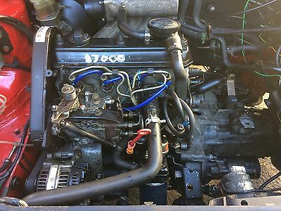 Vw Golf Mk3 1.9 Engine With Gearbox