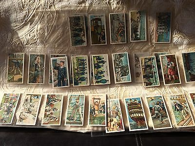 Life on Board a Man of War Cigarette Cards