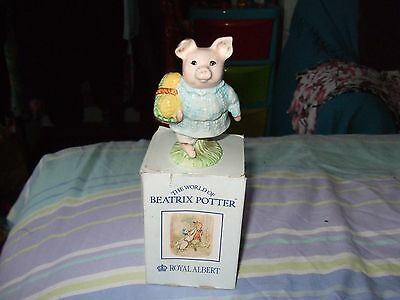 Royal Albert Beatrix Potter Little Pig Robinson Ornament