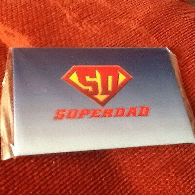 Superdad  Fridge Magnet New Ideal For Xmas,birthdays.fathers Day