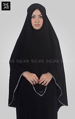 Khimar Indonesia Instant Hijab One Piece Abaya Jilbab Islamic Prayer Cloth