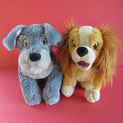 Lady And The Tramp - Soft/plush Beanie Toys - Disney