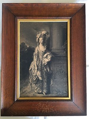 Old Framed Print - Thomas Gainsborough