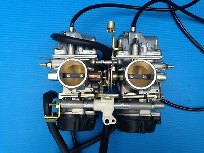 COPPIA CARBURATORI CARBURETORS DUCATI MONSTER MIKUNI 38 mm