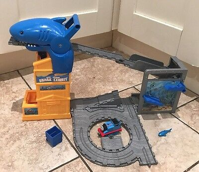 Thomas The Tank Engine Take And Play Set Shark Exhibit Includes Thomas  Engine