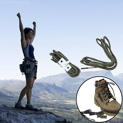 550 Firecord Paracord Shoelaces Boot Laces Firestarting Survival EDCs Tactical