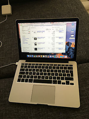"2015 TOP Zustand! 13"" Retina Macbook Pro 256GB i5 SSD Apple QWERTZ"