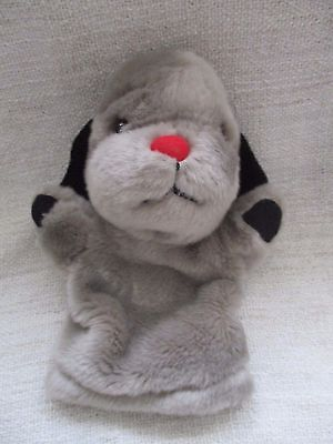 THE SOOTY & SWEEP & CO SHOW  hand puppet plush soft toy VGC - SWEEP with squeaks