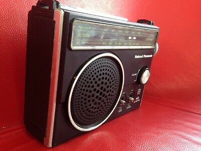 National Panasonic RF-577BA AM/FM Radio