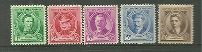 United States 1940 Mint Stamps