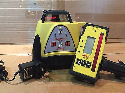 Leica Rugby 100 Laser Level Just Calibrated
