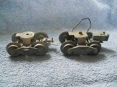 Lionel Postwar Trucks For Tenders Or Freight Cars Never Used??