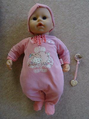Baby Annabell 2012 edition with dummy