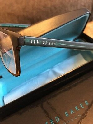 Ted Baker Glasses With Case and Cloth Very Nice