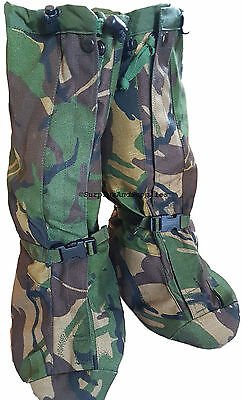 BRITISH ARMY YETI GAITERS MEDIUM MK3 MVP GORETEX hiking trekking gaitors puttees