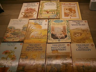 Miss Read. Collection Of 11 Paperback Books Penguin.