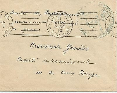 Corps d'armée CANCEL ON PARIS FRANCE 1915 COVER REF 452