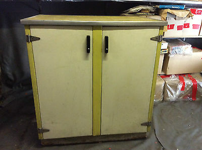 RETRO METAL KITCHEN CABINET, WITH DRAWERS - Herefordshire