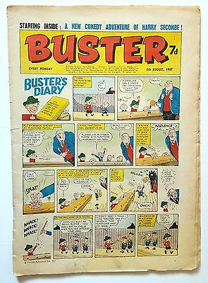 BUSTER  Vintage UK Comic  [5th August 1967]