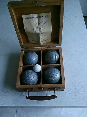 Antique French Boules Set